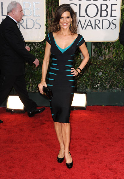 Perrey Reeves in Herve Leger
