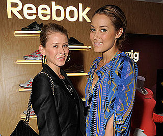 Slide Photo of Lauren Conrad and Lo Boworth at Golden Globe Gift Suite