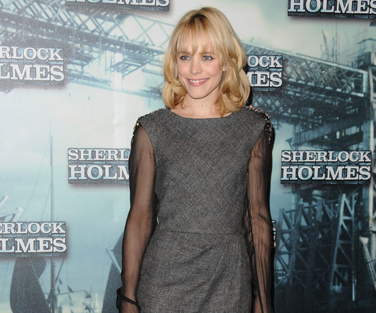 Slide Photo of Rachel McAdams at Sherlock Holmes Paris Photo Call