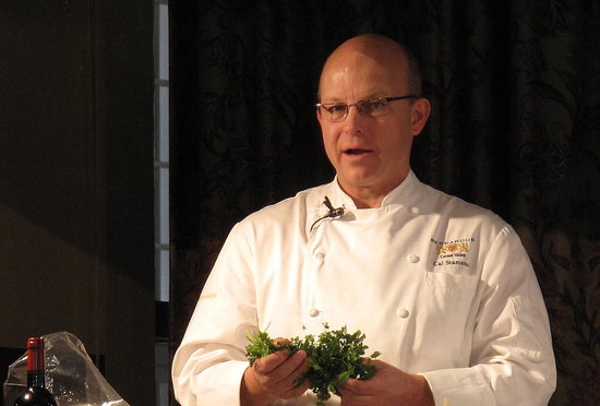 Cal Stamenov at the 2010 Chefs' Holidays at The Ahwahnee Hotel in Yosemite