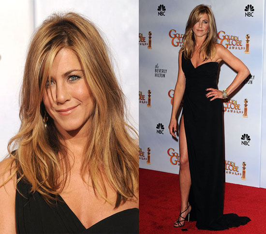 Jennifer Aniston In Valentino At The 2010 Golden Globe