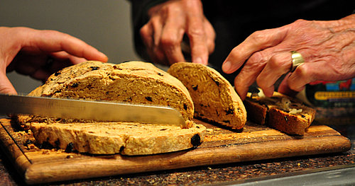 Crunchy Crust Olive and Rosemary Bread