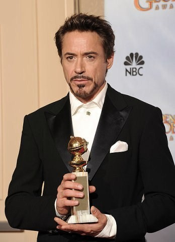 Robert on Golden Globe