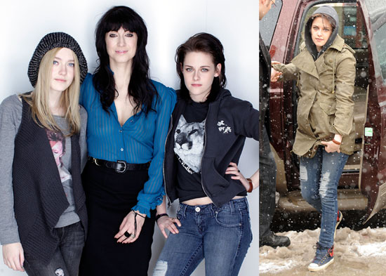 Photos of Kristen Stewart and Dakota Fanning at The Premiere of The Runaways at The Sundance Film Festival
