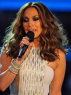 Jennifer Lopez at Grammys