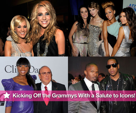 Photos of Taylor Swift, Katy Perry, Carrie Underwood at Clive Davis' Annual pre-Grammy Salute to Icons Party