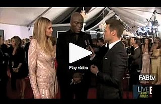 Heidi Klum and Seal at 2010 Grammy Awards