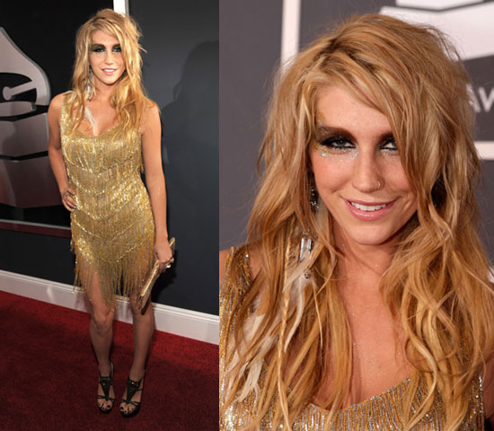 Ke$ha at 2010 Grammy Awards 2010-01-31 18:52:03