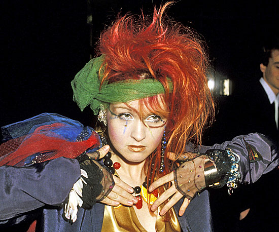 1984: Cyndi Lauper | R-E-WIND: The Grammy Awards Iconic ...