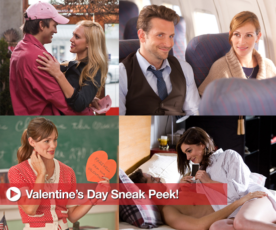Photo Stills From Upcoming Romantic Comedy Valentine's Day Starring Jennifer Garner, Julia Roberts, Bradley Cooper