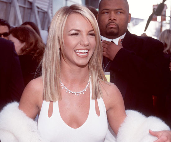 Britney Spears went with white in 2000.