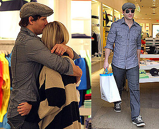 Photos of Peter and Jennie Shopping