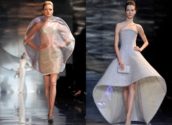 Armani Prive at Spring 2010 Couture Fashion Week in Paris