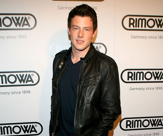 Slide Photo of Corey Monteith at Event on Rodeo Drive