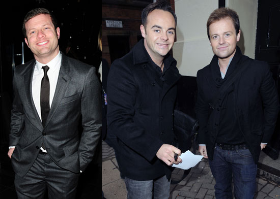 Photos of Dermot O'Leary and Ant and Dec Rumoured X Factor US Hosts