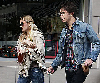 Slide Photo of Drew Barrymore and Justin Long in LA