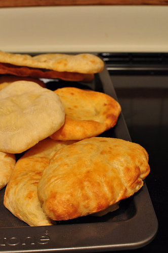 Challenge: Homemade Pita Bread