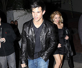 Slide Photo of Taylor Lautner at House Party in LA