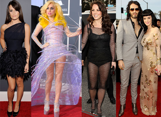 Photos of all the Celebs and Dresses on the Red Carpet at the 2010 Grammy Awards