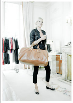Kate Modeling Longchamp