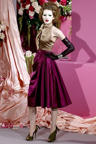 Christian Dior 2010 Spring Haute Couture Runway Collection
