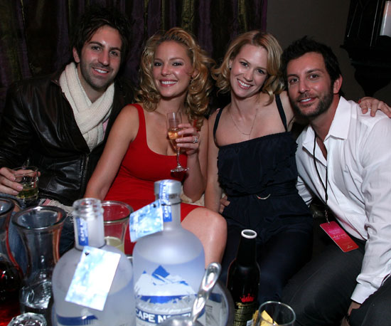 Josh Kelley and Katherine Heigl jo