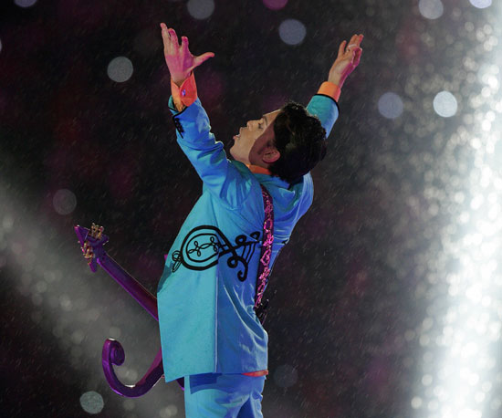 Prince was the halftime entertainment in 2007.