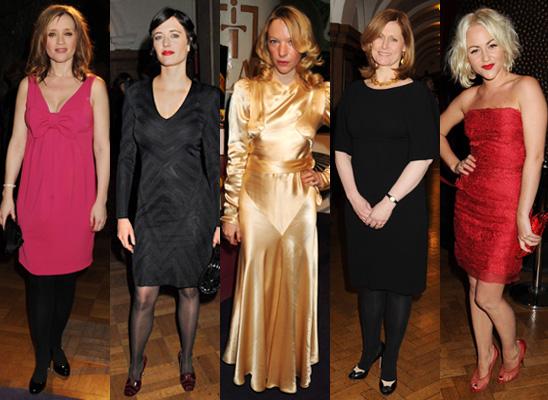 Best Dressed at the Evening Standard Film Awards 2010