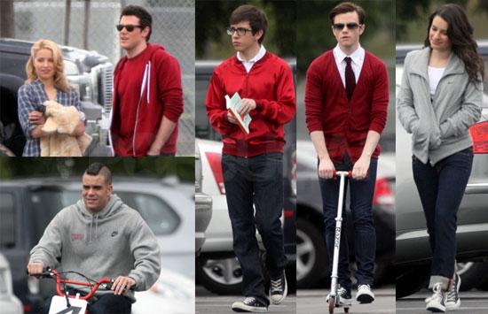 Photos of Glee