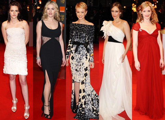 Best Dressed at the 2010 BAFTA Awards