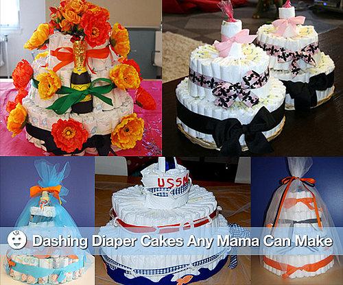 Photos of How to Make a Diaper Cake