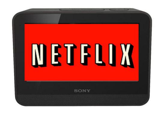 Sony Dash Gets Netflix Streaming App