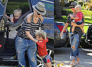 Photos of Gwen, Zuma and Kingston