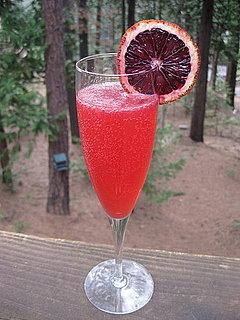 Blood Orange French 75 Recipe