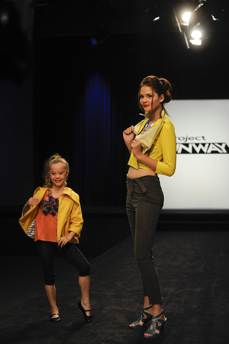 Mommy and Me Designs Straight Off Project Runway