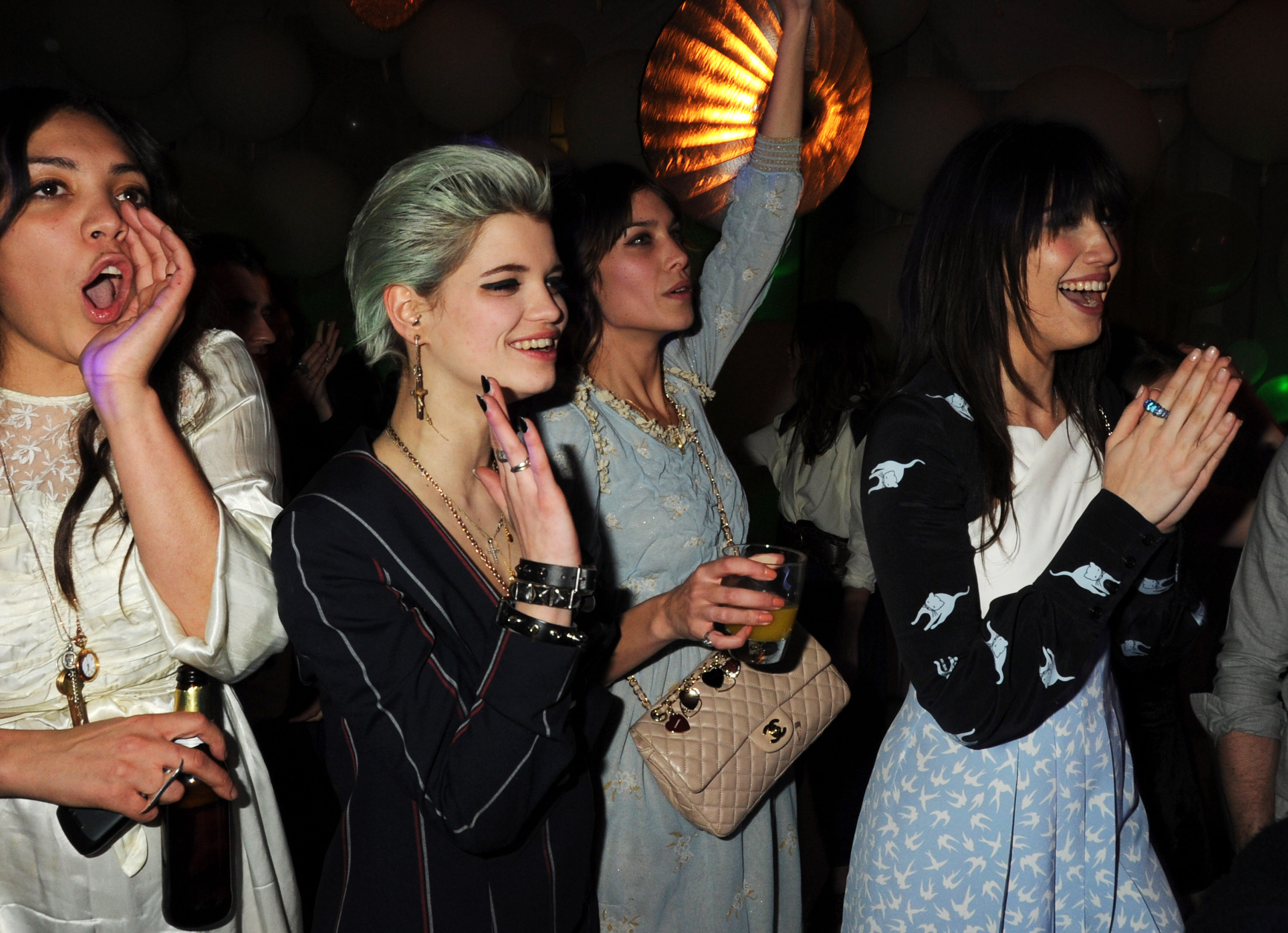 photos of elle style awards afterparty with my socalled