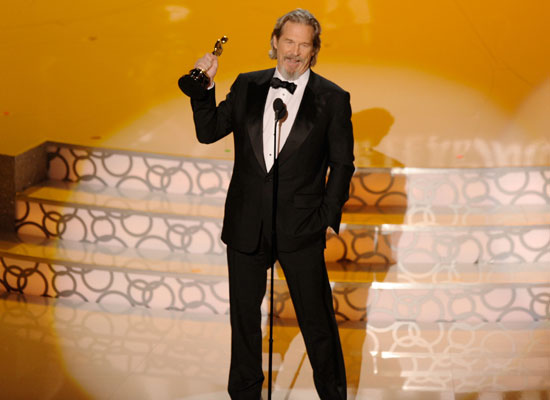 Most Deserved Standing Ovation: Jeff Bridges