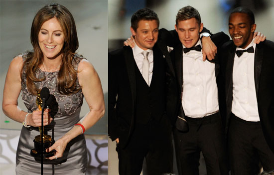 Kathryn Bigelow Talking Best Director, Best Picture Wins at 2010 Oscars