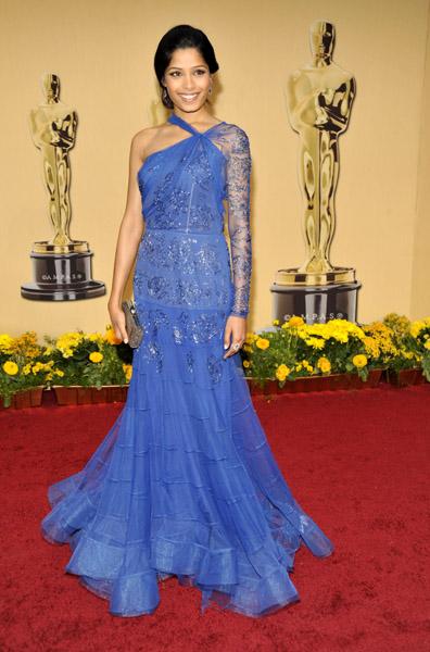 Freida Pinto at the 2009 Academy Awards