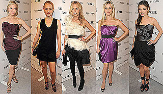 Celebrities at Vera Wang Boutique Opening Party in LA
