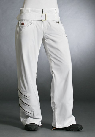 Gretchen Bleiler Profile Lite Eco Pant, white ($250)