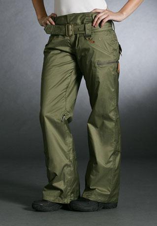 Gretchen Bleiler Profile Lite Pant, green ($200)