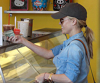 Photo Slide of Reese Witherspoon Getting Ice Cream