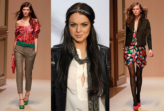 Lindsay Lohan Confirms She Is No Longer Working With Ungaro