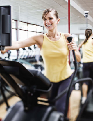 Print It Cardio: Elliptical Interval With Shrinking Recovery