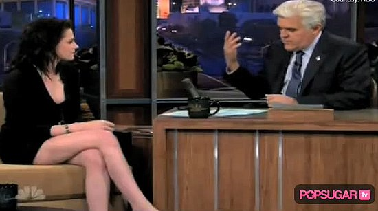 Photos and Video From Kristen Stewart on The Jay Leno Show
