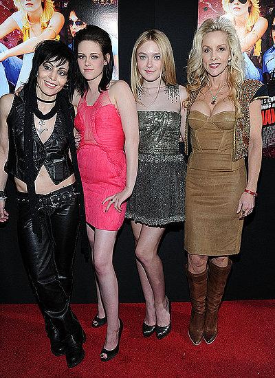 Photos of Dakota Fanning, Kristen Stewart, Joan Jett, Cherie Currie at The Runaways Premiere