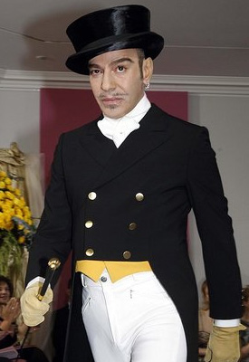 John Galliano is New Chairman of Fashion Fringe Replacing Donatella Versace