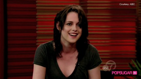 Kristen Stewart Tells Regis and Kelly About Meeting Kate Winslet at the Oscars