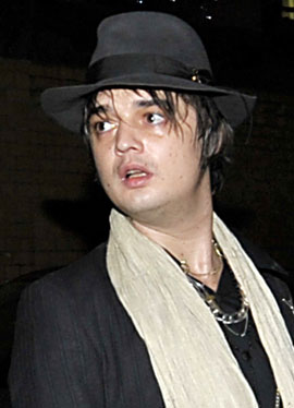 Photos of Pete Doherty Who Has Been Arrested on Suspicion of Supplying Drugs To Heiress Robin Whitehead Who Died in January 2010-03-22 06:45:00